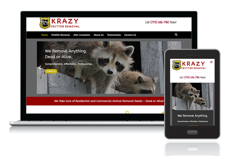 "<a target=""_blank"" style=""color: #fff;"" href=""http://krazycritterremoval.com/"">Krazy Critter Removal</a>"
