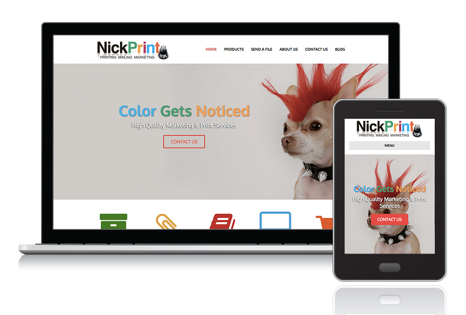 "<a target=""_blank"" style=""color: #fff;"" href=""http://www.nickprint.com/"">Nick Print, Inc.</a>"