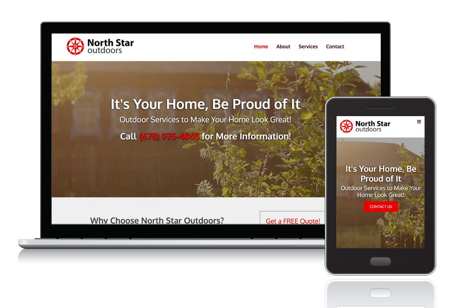 """<a target=""""_blank"""" style=""""color: #fff;"""" href=""""http://www.northstaroutdoorsllc.com/"""">North Star Outdoors</a>"""