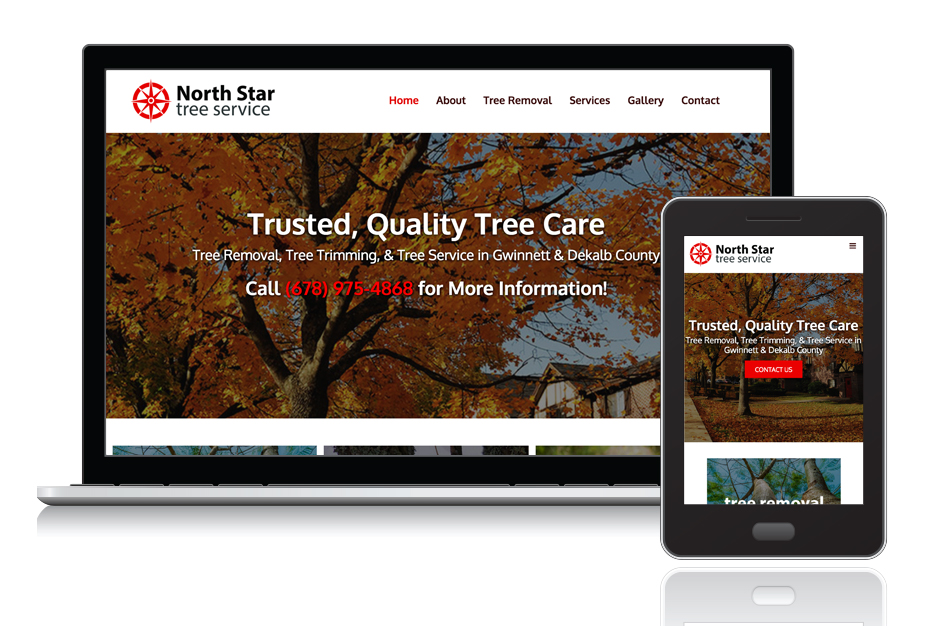 "<a target=""_blank"" style=""color: #fff;"" href=""http://www.northstartreeservice.com/"">North Star Tree Service</a>"