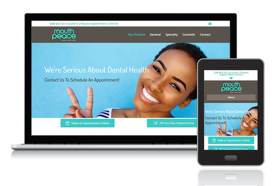 """<a target=""""_blank"""" style=""""color: #fff;"""" href=""""http://mouthpeacedental.com/"""">Mouth Peace Dental</a>"""