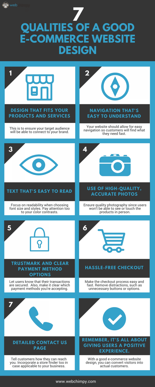 7 Things You'll Find in a Good Ecommerce Website Design